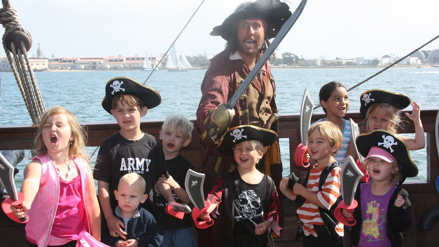 Try something new and take the kids on a pirate cruise to watch the fireworks in San Diego or a party with Shrek at the Gaylord National Hotel in National Harbor, Md.