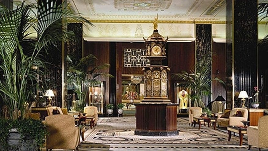The Waldorf Astoria launched an amnesty program for all its sticky-fingered guests who may want to have a change of heart.