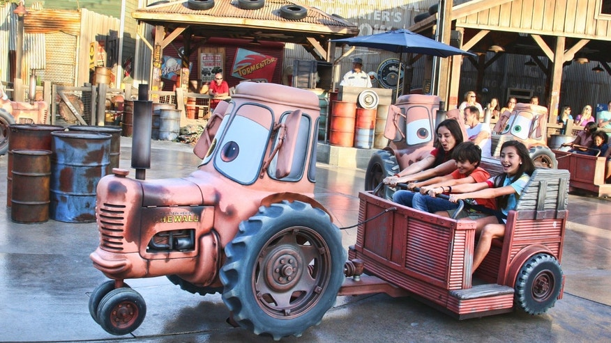Cars Land features three immersive family attractions showcasing characters and settings from the Disney-Pixar film, Cars.