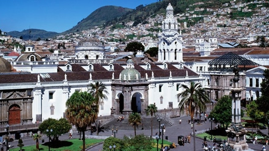Quito, the capital of Ecuador, was founded in the 16th century on the ruins of an Inca city.
