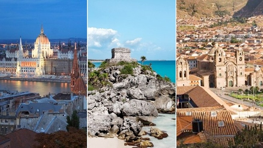 Good deals can be found traveling to Budapest, Hungary, Tulum, Mexico and Cusco, Peru.