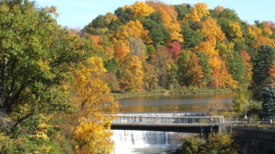 Beebe Lake, a part of the Finger Lakes, is one of the many scenic places to see in the region.