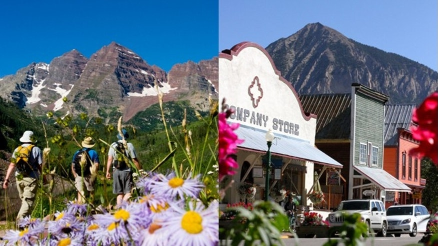Hike Crested Butte to Aspen or stroll downtown Crested Butte, Colo.
