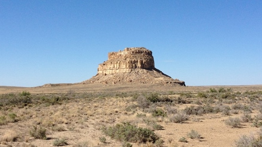 Fajada Butte, Chaco Canyon, in northwestern New Mexico.