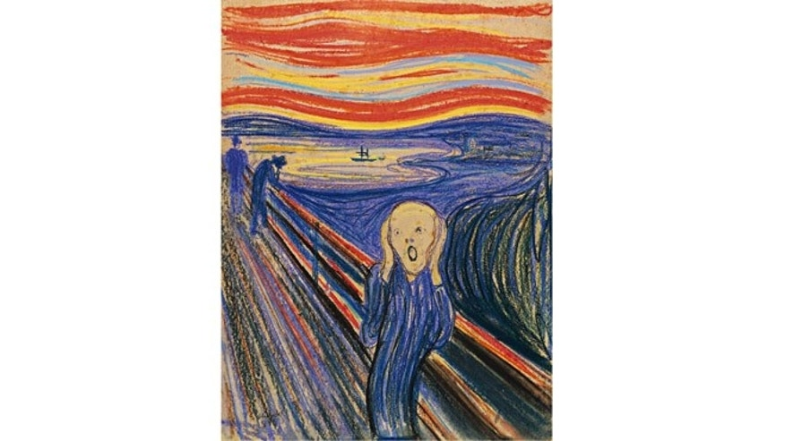Norwegian painter Edvard Munch's famous 1895 piece.