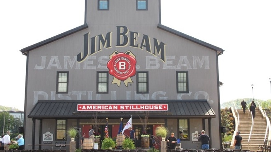 Oct. 3, 2012: The Jim Beam visitors center at its central distillery in Clermont, Ky.
