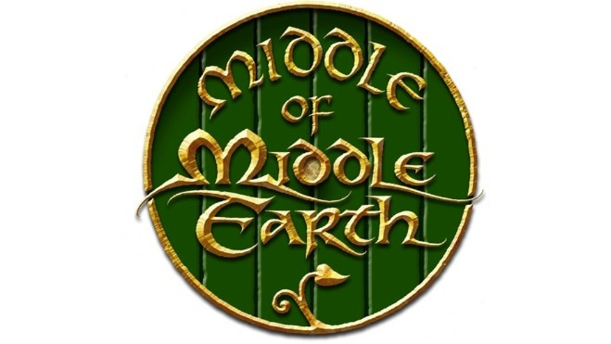 "A logo designed by Daniel Reeve, an artist who worked on the cartography and calligraphy for ""The Hobbit"" trilogy."