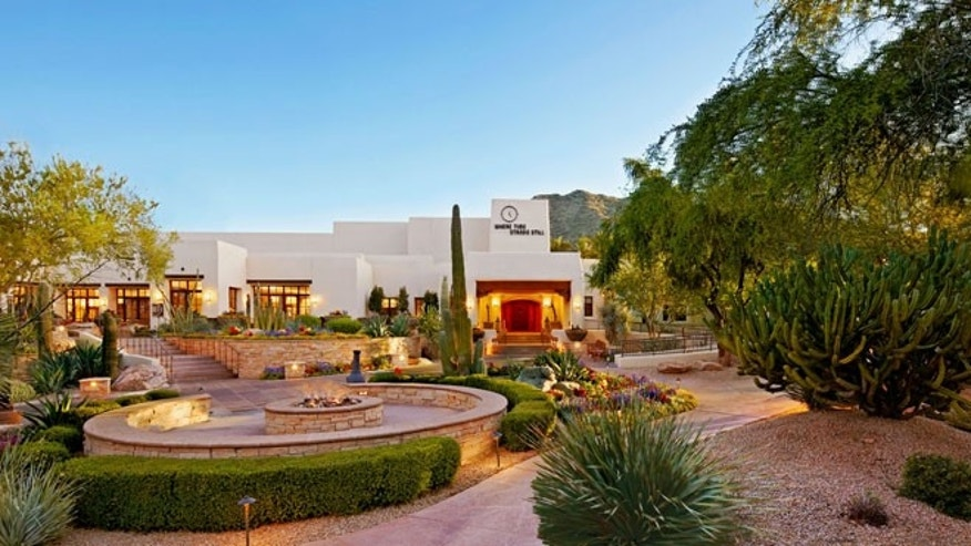 The historic JW Marriott Camelback Inn Resort & Spa.