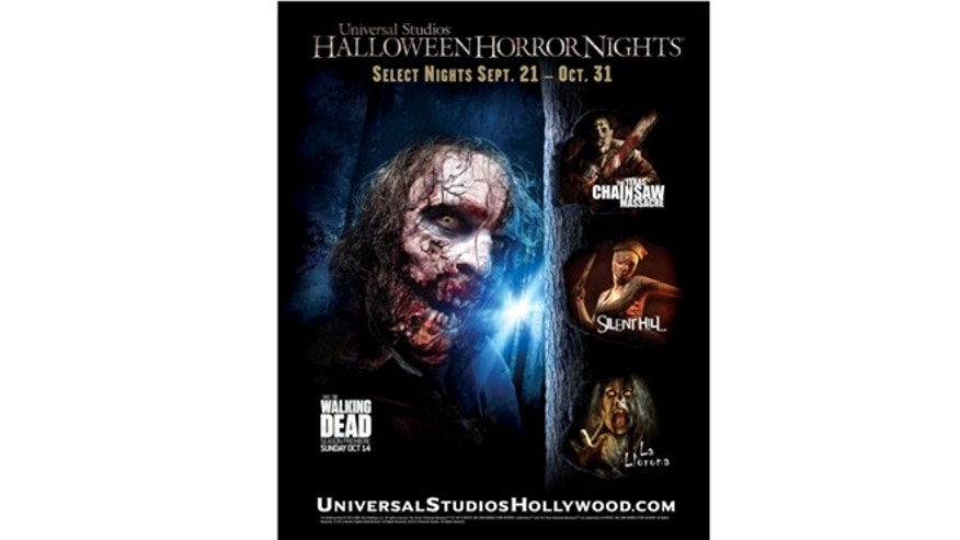 Universal Studios Hollywood Announces General Admission and Front of Line Tickets Now On Sale for the Eagerly-Anticipated 'Halloween Horror Nights' Event, Taking Place on 19 Select Nights from September 21 to October 31, 2012.  (PRNewsFoto/Universal Studios Hollywood)
