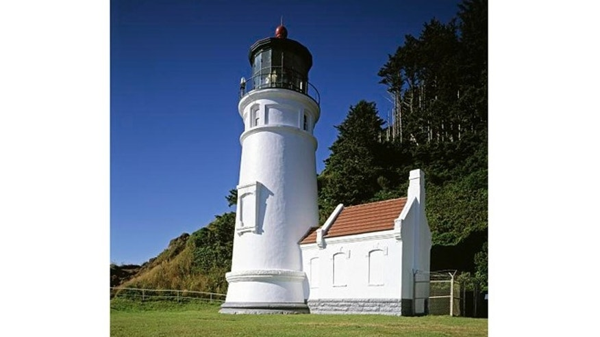 The Haceta Head Lighthouse is the most-often photographed lighthouse on the Oregon Coast.