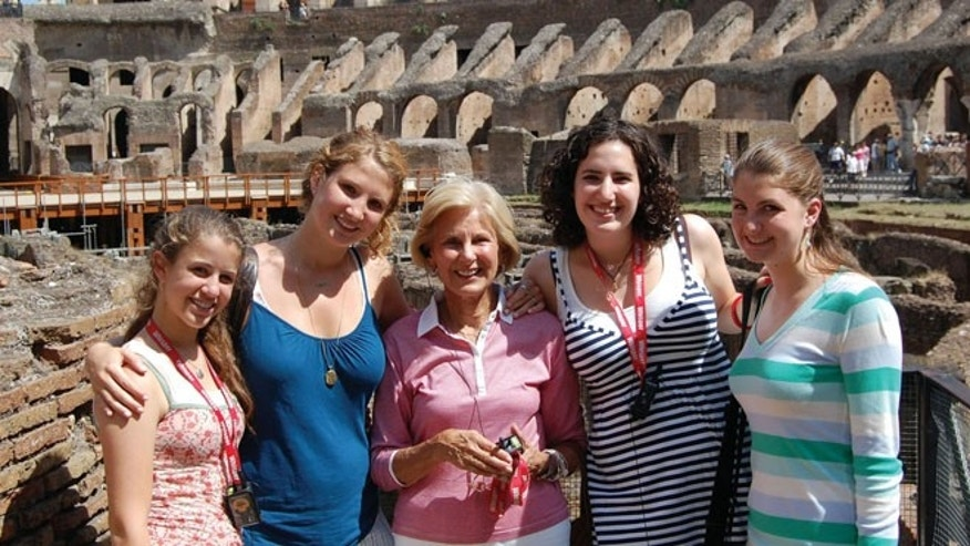 Travel provides family members of different generations, like the Bridges family, on a Tauck Bridges tour of Italy, the opportunity to bond in a fun and memorable way.