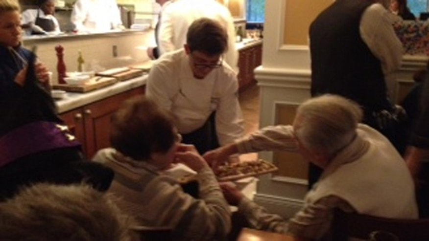 Chef Antoine Westermann at the Willard InterContinental cooking demonstration in Washington, D.C.