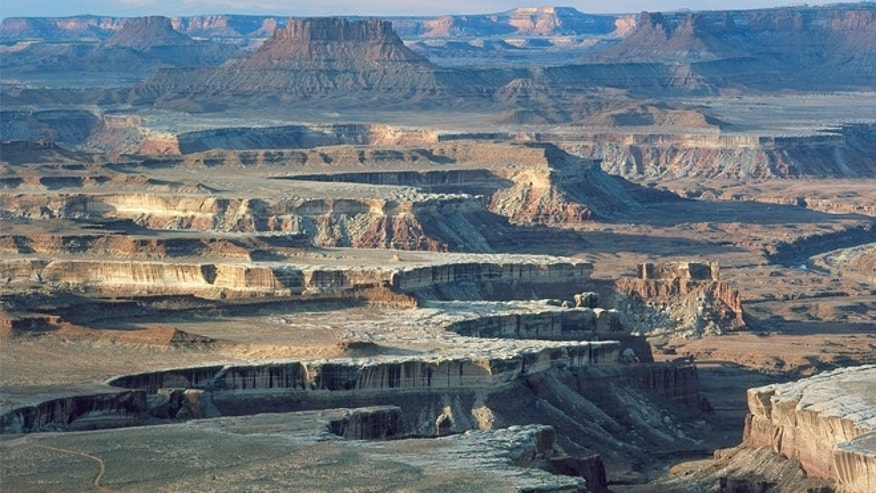 View from Green River Overlook at Canyonlands.