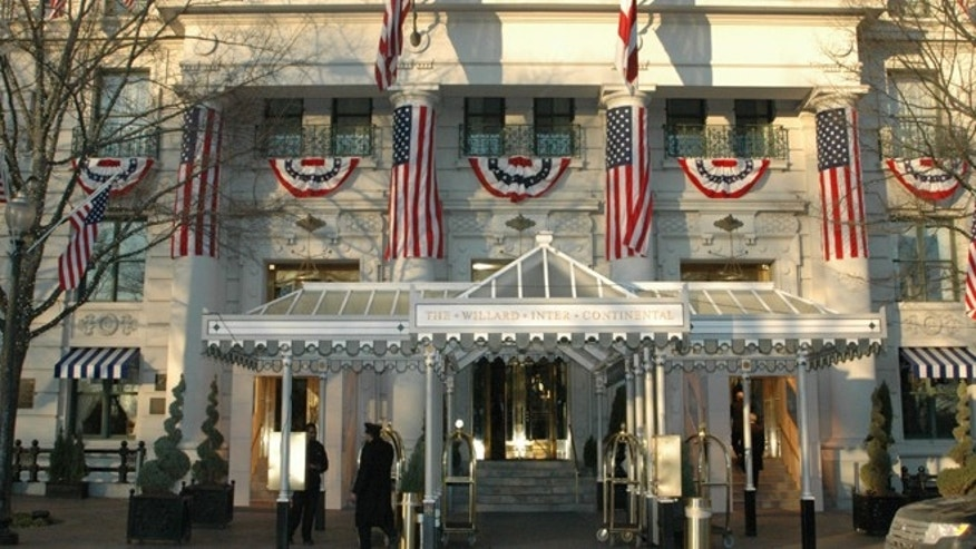 Just two blocks from the White House, the Willard InterContinental has hosted nearly every U.S. president since 1850.