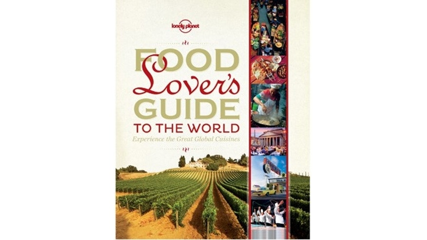 This undated image provided by Lonely Planet shows one of the publishers recent books, Food Lovers Guide to the World.