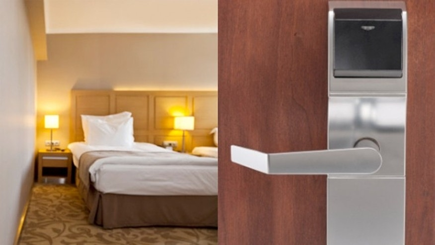 Hotels are scrambling to solve security flaws on Onity locks, whose keycard locks can be found on million rooms around the world.