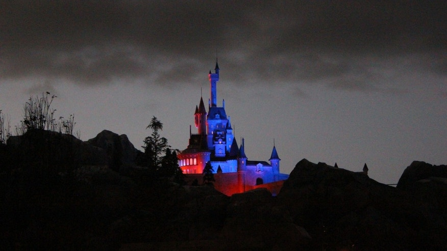 Beast's castle in New Fantasyland.