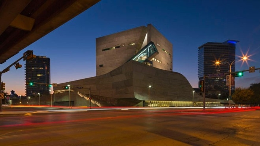 The Perot Museum of Nature and Science.