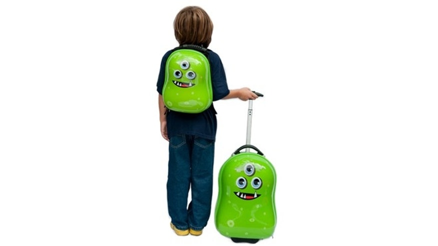 Archie Alien Travel Buddies from Trendy Kid