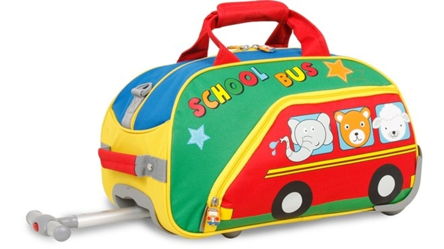 J World Kids' Rolling Duffle