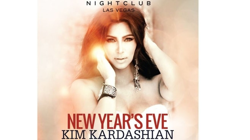 Want to ring in the new year with Kim Kardashian? You can if you're willing to pay $125 for a ticket -- or $3000 for a table.