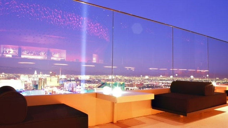 "Check out the spectacular views from the ""The Mixx"" restaurant located on the 64th floor of the Mandalay Bay and take in a four-course meal to remember."