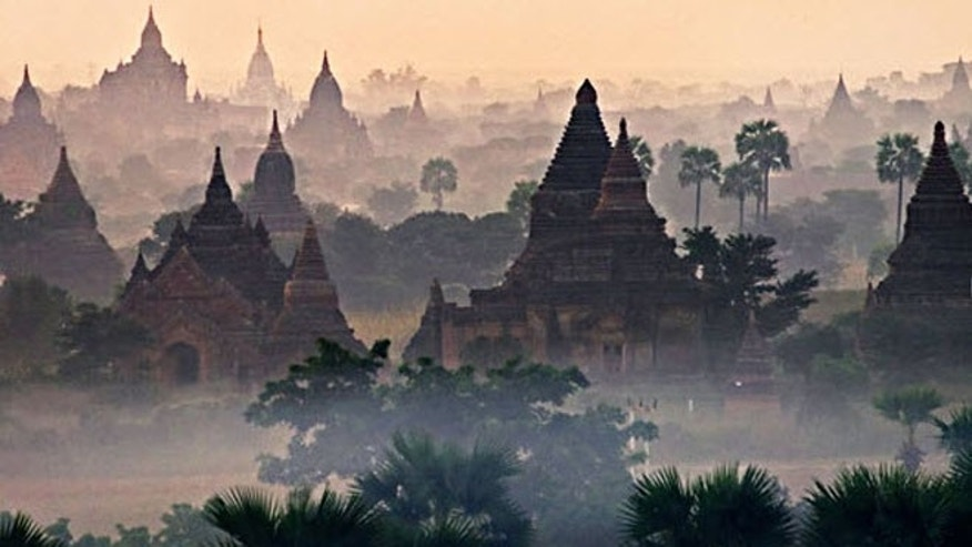 Bagan boasts 26 square miles of more than 4,400 temples, built between the 11th and 13th centuries.