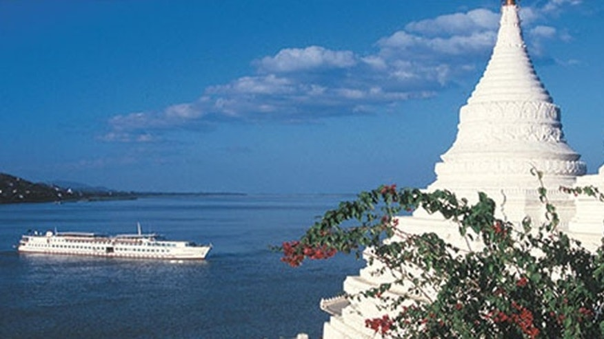 The Orient-Express offers cruises on the Burma's waterways on its ships, the Orcaella and the Road to Mandalay.