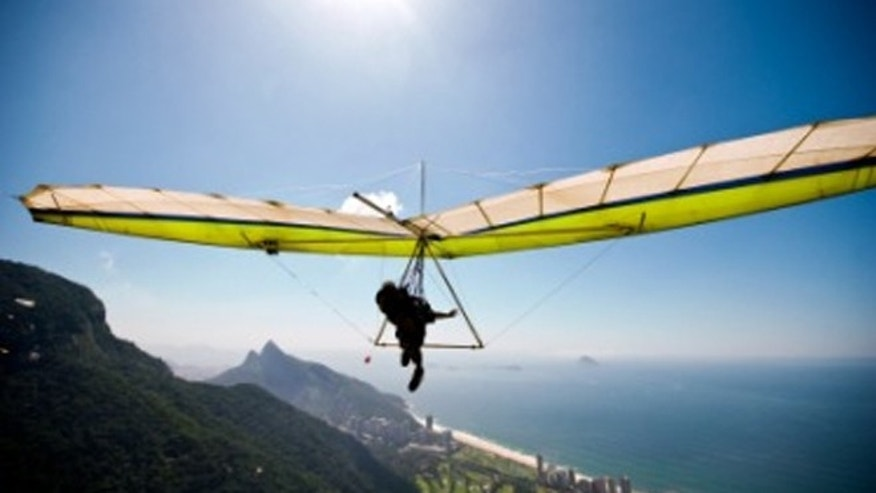 Hang glide at Monte Grappa soars with its favorable conditions, excellent thermals and easy landing zones.