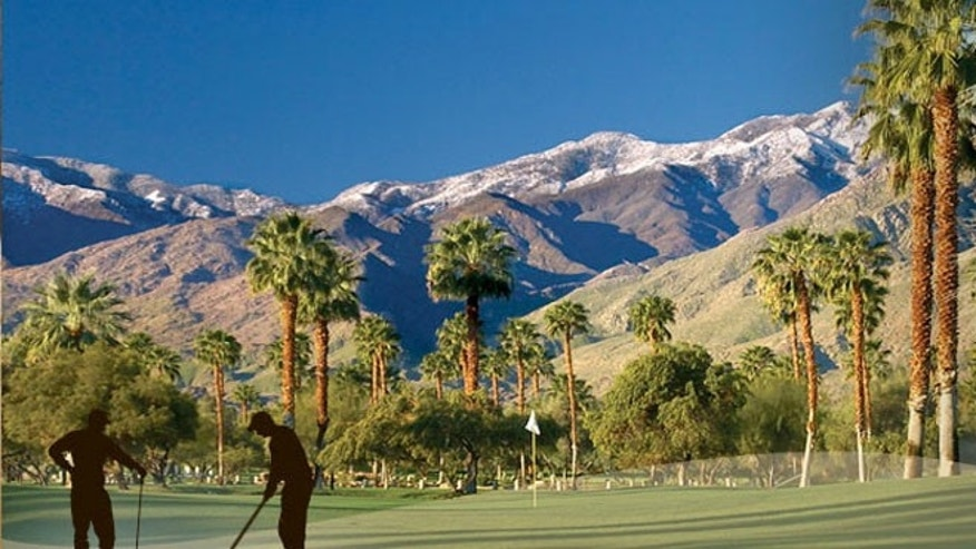 There are 110 world-class golf courses in Palm Springs.