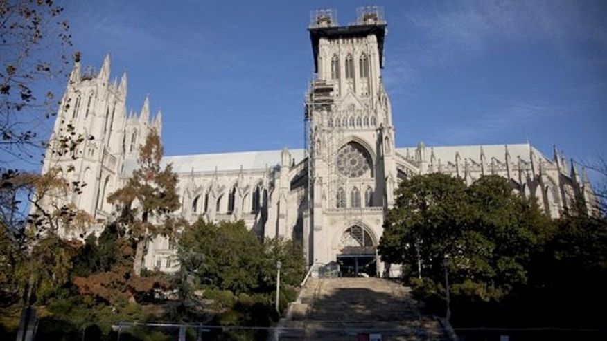 The Washington National Cathedral.
