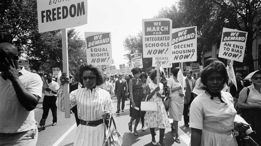 March on Washington participants.