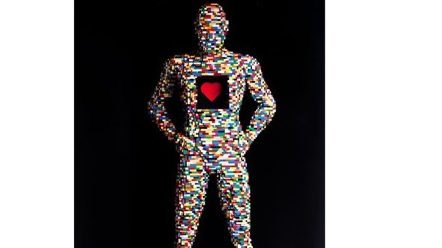 A sculpture made from LEGO pieces by artist, Nathan Sawaya that will soon be on view in Utah's Kimball Art Center.