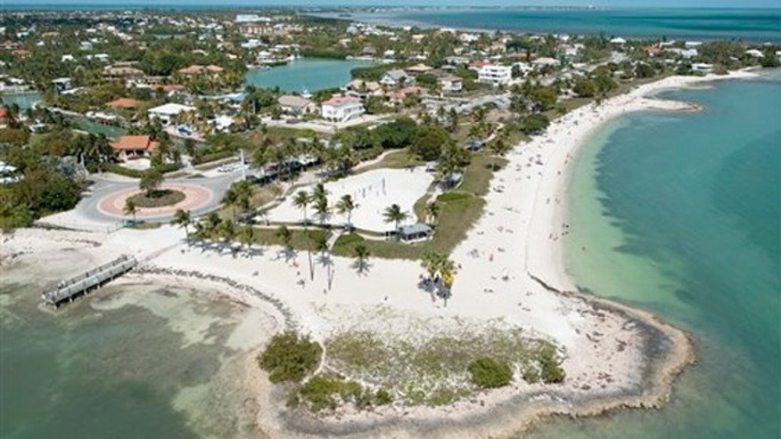 March 10, 2013: Florida Keys residents and visitors enjoy Sombrero Beach Park in Marathon, Fla.