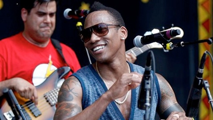 May 4, 2012: The Pedrito Martinez Group performs at the New Orleans Jazz and Heritage Festival in New Orleans. Martinez and the Red Baraat rhythms band are among the acts heading to New Orleans to headline in this year's festival.