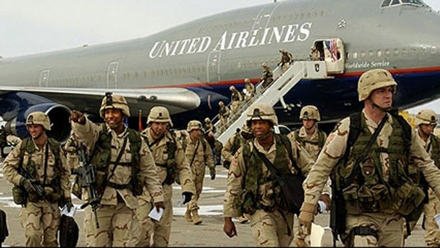 Service members will be issued commercial tickets instead of charter flights to their R&R destination, either within the United States or to an approved destination elsewhere in the world.
