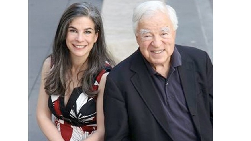 FILE:  Arthur Frommer and his daughter, Pauline Frommer, in New York.