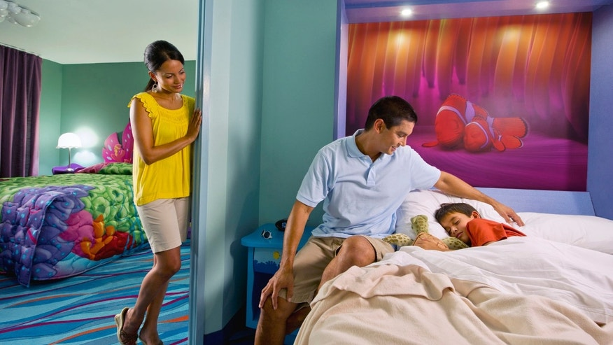 Disney's Art of Animation Resort: Finding Nemo family suite.