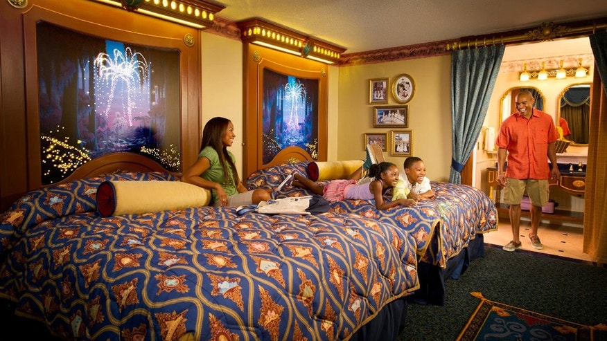 Royal rooms at Disney's Port Orleans Resort.