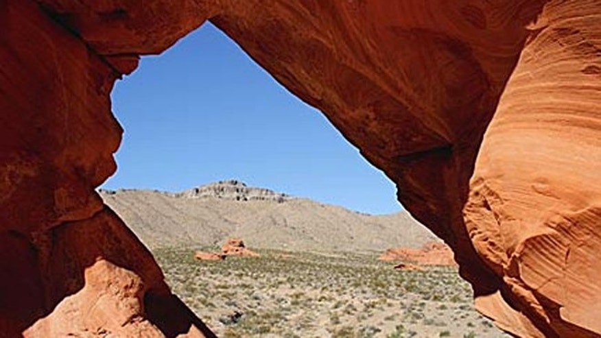 Valley of Fire has 3,000-year-old petroglyphs carved in sandstone and breathtaking views of maroon-colored rock formations created during the age of the dinosaurs.