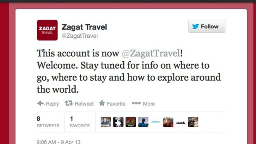 All of the @FrommersTravel followers are now following Google-owned @ZagatTravel.