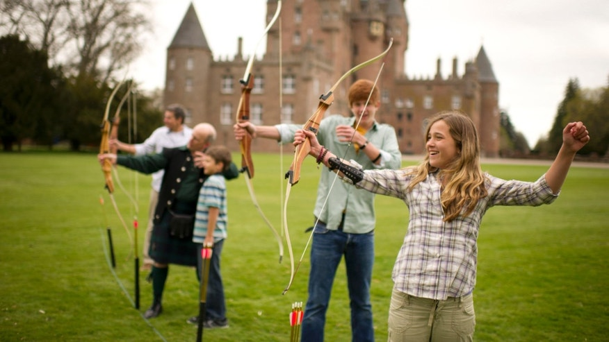 Experiencing Scotland with Adventures by Disney.