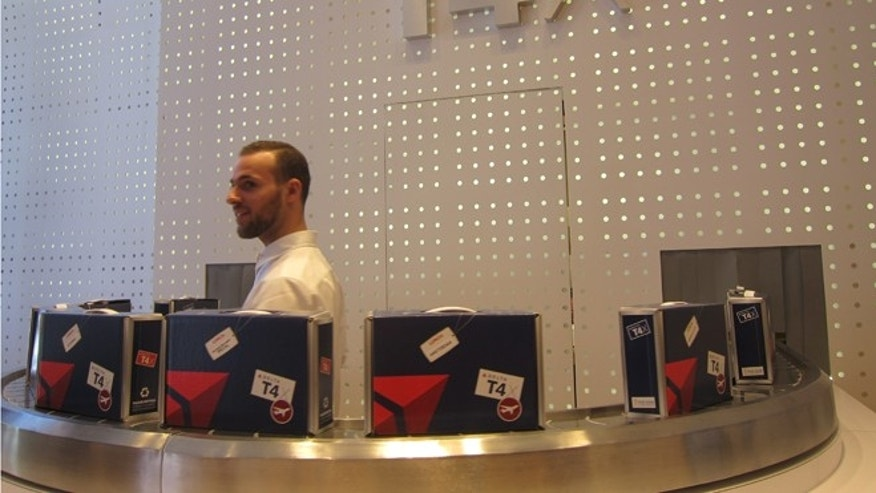 The grab-and-go boxes cost $4 and will be available for the month of May to kick-off Delta's Terminal 4 renovation at JFK Airport.