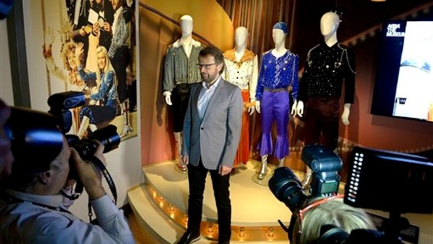 Monday May 6, 2013: Bjorn Ulvaeus, former member of the Swedish music group ABBA, is photographed during a press preview of 'ABBA The Museum' at the Swedish Music Hall of Fame in Stockholm, Sweden.