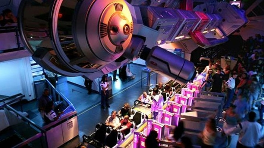 Disneyland has temporarily shut down the popular ride because of safety concerns.
