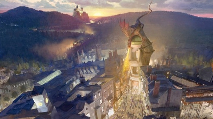 "Coup confirm the dragon perched atop Gringotts Bank is not just artistc flair, stating ""the illustration is pretty accurate."""