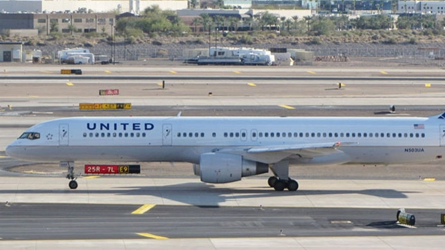 United's refurbished Boeing 757-200's, which have been retrofitted with fully lie-flat beds in the front cabin.