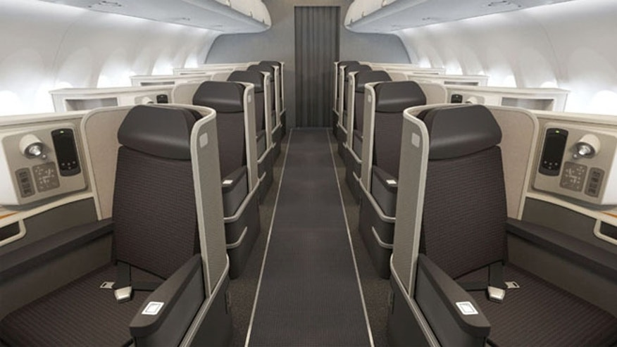 American will take delivery of the new Airbus A321 models in November that with have fully lie-flat seats in business and first.