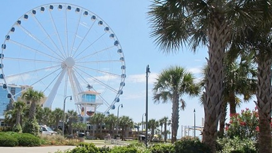 May 22, 2013: Plyler Park, just off the boardwalk in Myrtle Beach, S.C.