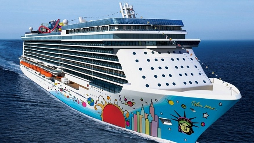 Norwegians new ship Breakaway.